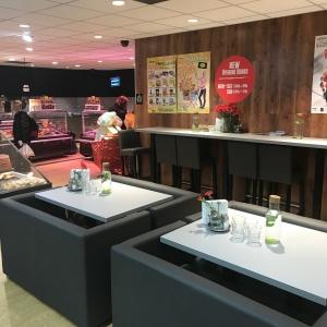 Restauracja w sklepie